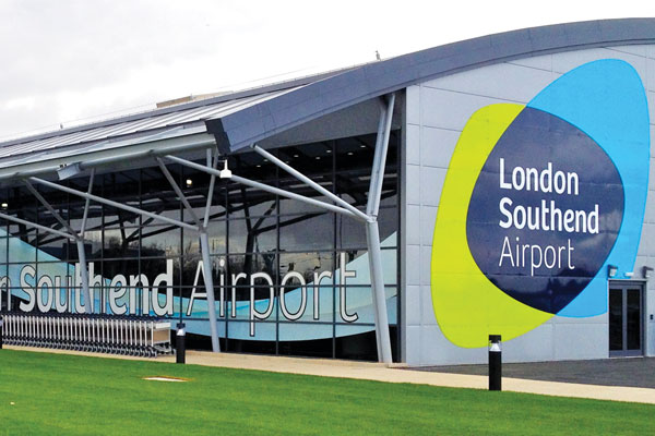 Ryanair expands Southend airport network