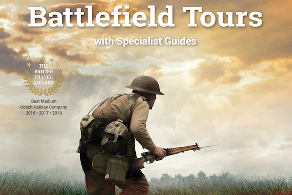 Leger expects interest in battlefield tours to surge