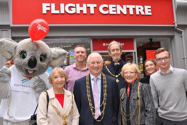 Flight Centre opens its 82nd store in the UK