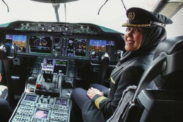 A day in the life: Captain Sharifah Czarena