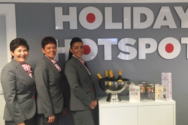 Three former Thomas Cook agents band together to open new agency