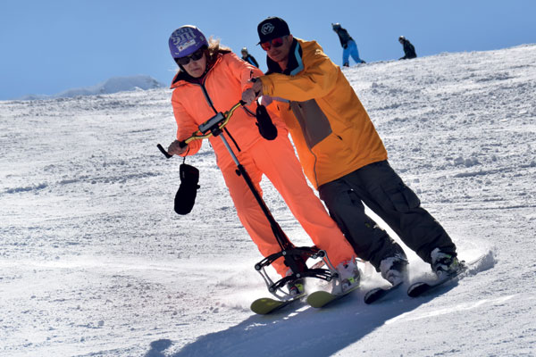 Accessible skiing