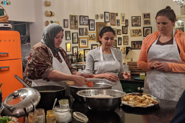 Experience the 'real' Jordan at an Amman cookery school
