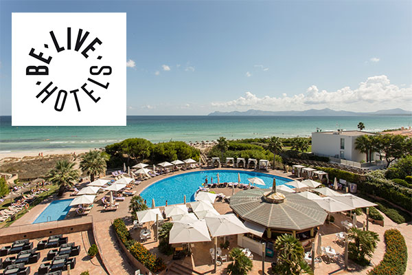 Win a three-night stay in Tenerife, Majorca or the Algarve with Be Live Hotels