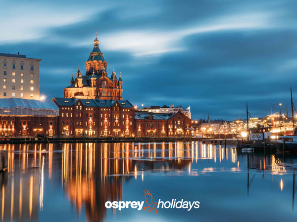 Win a trip for two to Helsinki with Osprey Holidays