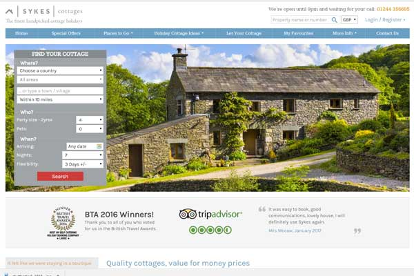 Sykes Cottages' U-turn on refunds after competition watchdog probe