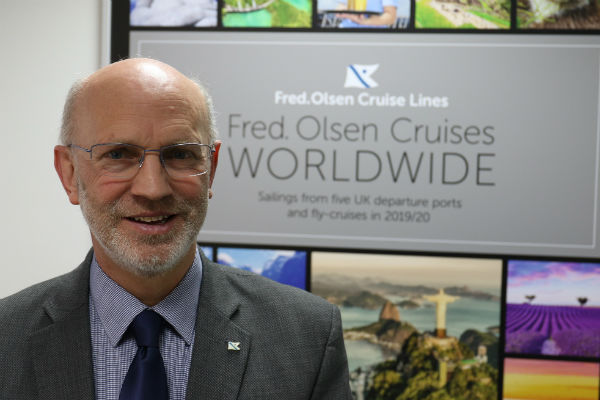 'Conditions right' for new Fred Olsen ship, says outgoing MD