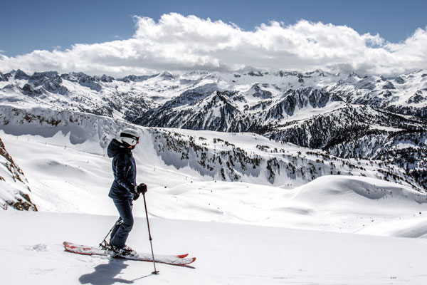 Spanish-style skiing in Baqueira-Beret