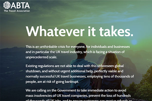 Renewed push for travel industry to write to MPs
