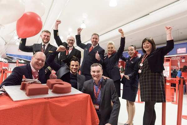 A look back at 15 years of Jet2.com
