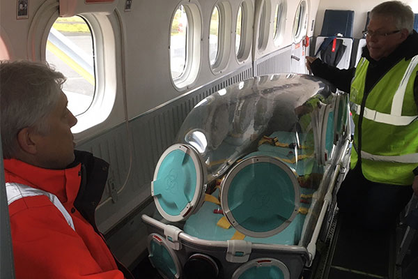 Coronavirus: Loganair converts aircraft to carry patients