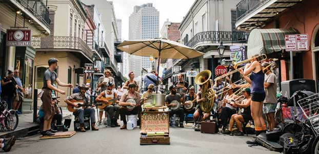 The US: 48 hours in New Orleans