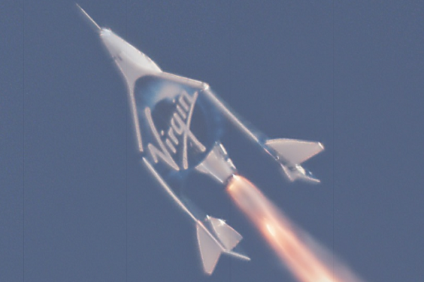 Virgin Galactic steps up space tourism race with successful test launch
