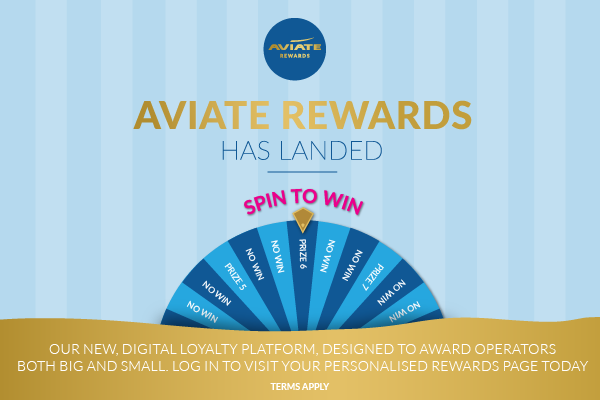 Aviate Rewards has landed!