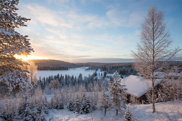 Lapland day trip aborted due to icy runway