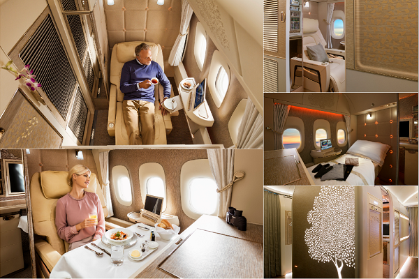 Emirates' new First Class suites to include NASA-inspired beds
