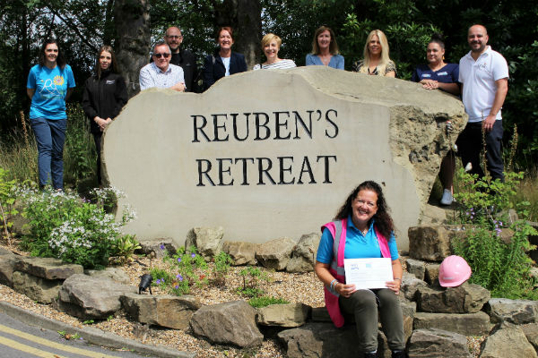 Tipto smashes fundraising total for Reuben's Retreat