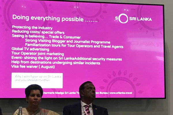 WTM 2019: Sri Lanka hails 'bounce back' and targets tourism growth