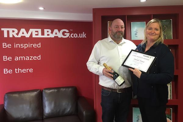 Travelbag consultant celebrates 30th anniversary