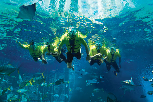Catch some winter sun and learn to dive at Atlantis the Palm, Dubai