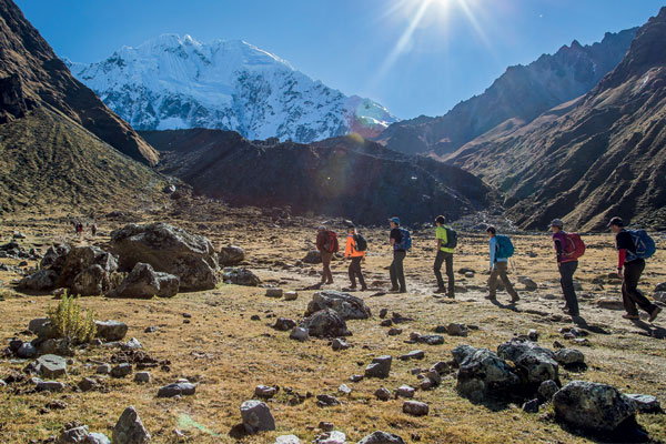 Hiking and luxury lodges in Peru