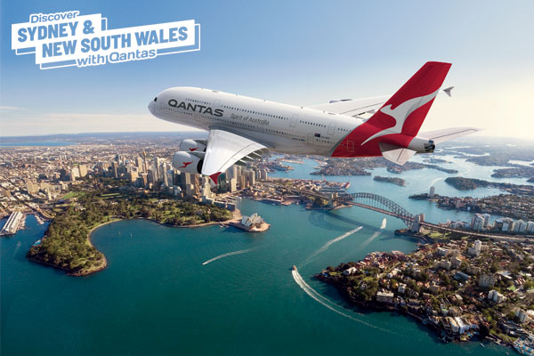 Win £250 worth of vouchers with Qantas and Destination NSW