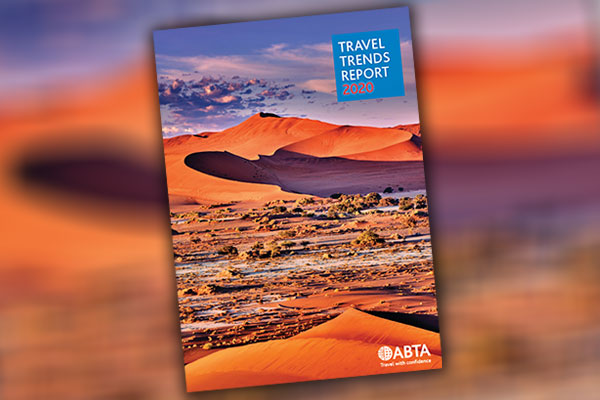 Sustainable travel at forefront of Abta 2020 trends report