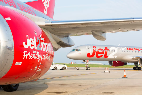 RAF jets scrambled as passenger is restrained on Jet2 flight