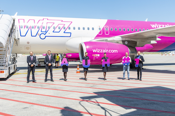 Wizz Air makes debut in Abu Dhabi