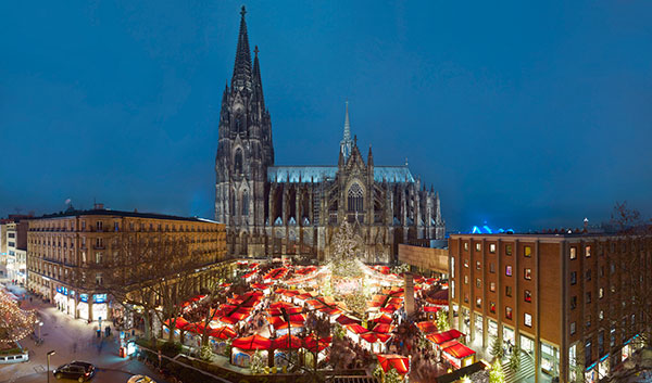 Win a return flight for two to your favourite German Christmas market with Eurowings!