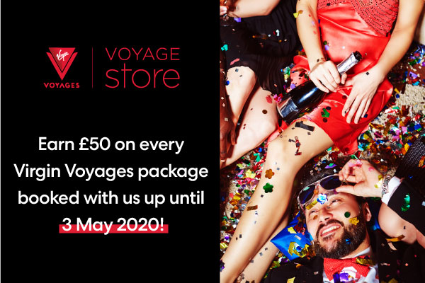 Get your bookings in for a guaranteed win with Voyage Store!