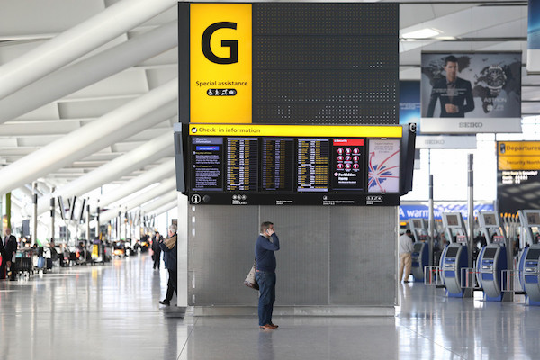Government 'must extend airport Covid lifeline to wider travel industry'