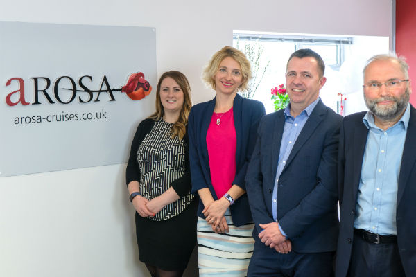 A-Rosa expands sales team and opens first UK office