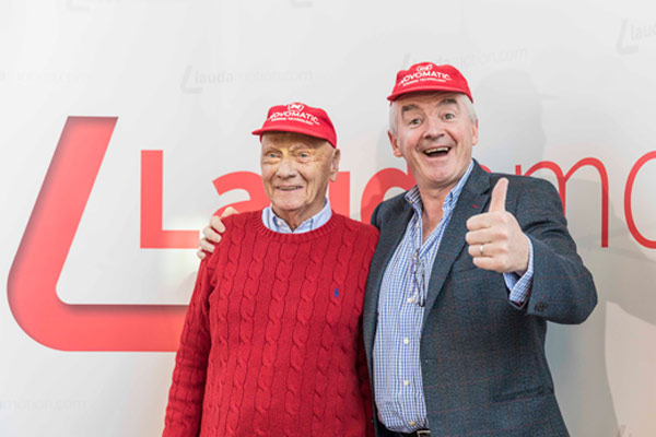 Ryanair completes takeover of Laudamotion