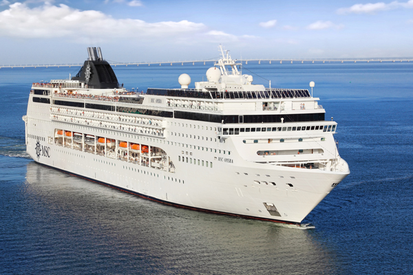 Updated: MSC Opera sails on after unfounded coronavirus fears