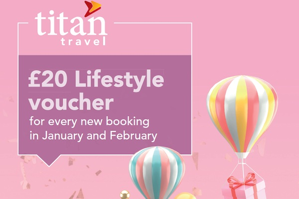 Titan incentive offers agents chance to earn £20 vouchers