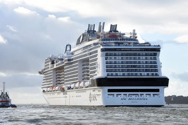 MSC Bellissima to feature in Channel 5 programme