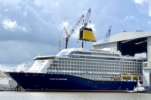 Saga's Spirit of Adventure set for November inaugural voyage