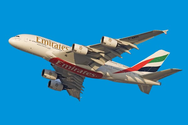 Emirates reports fall in profits