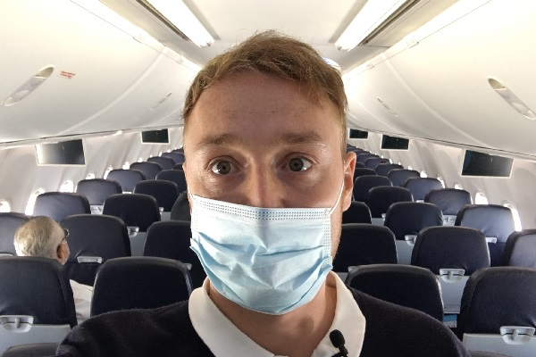 Comment: Travelling abroad is basically the same… with a mask