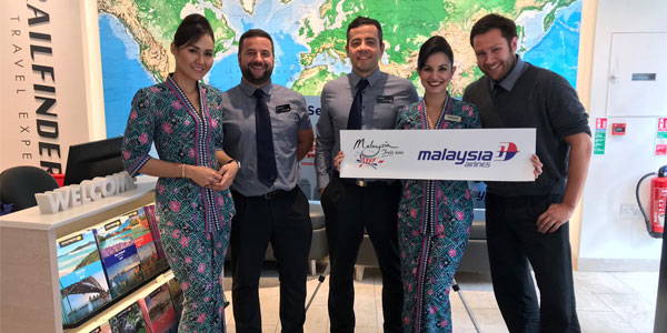Trailfinders-Malaysia-AIrlines-sales-blitz