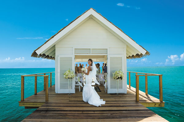 Montego To Build Wedding Over Sea ChapelTravel Weekly Sandals Bay qzpGLMVSjU