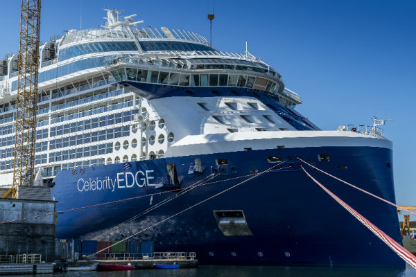 Video: Soaring sales of Celebrity Edge led to decision to christen Apex in UK