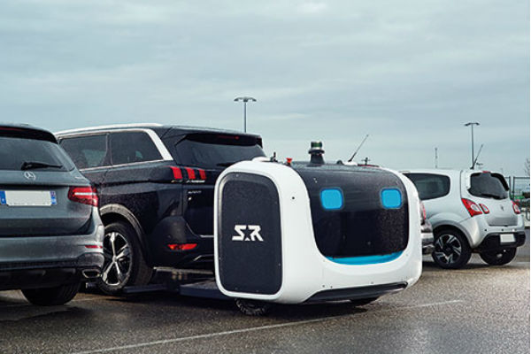 Valet parking by robot set for Gatwick trial