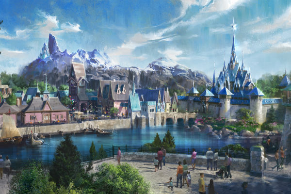 Disneyland Paris to open Frozen-themed area