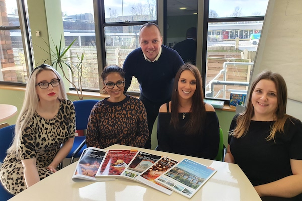 Newmarket Holidays unveils commercial services team