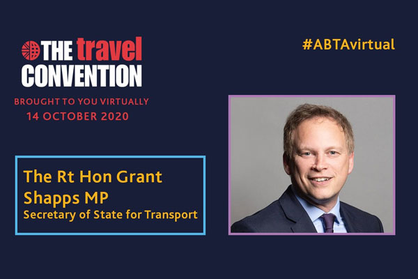Abta chief 'alarmed' by Shapps' Travel Convention address