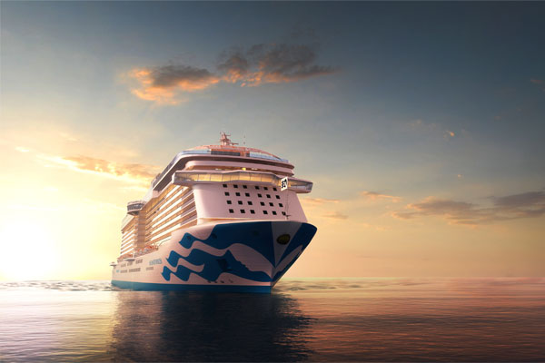Win a four-night cruise on board Sky Princess
