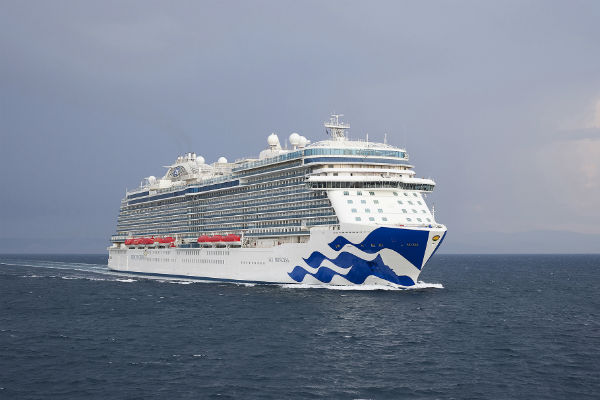 Sky Princess completes sea trials
