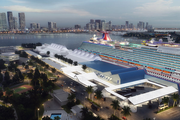 Carnival PortMiami expansion plans approved